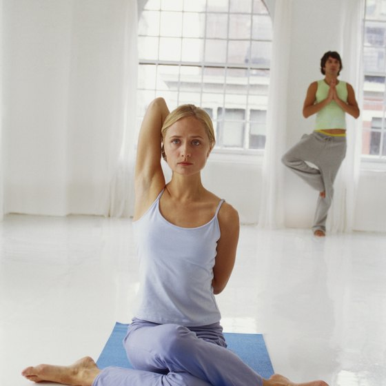 Yoga poses can stretch and contract your chest muscles, which helps the breasts.