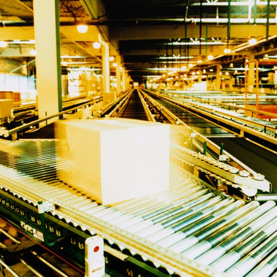 Efficiency in organizing and moving goods is important to distributor profits.