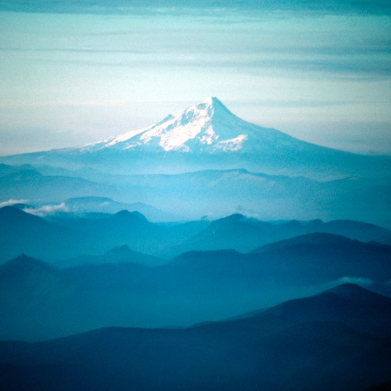 Oregon's Mount Hood is the state's highest point.