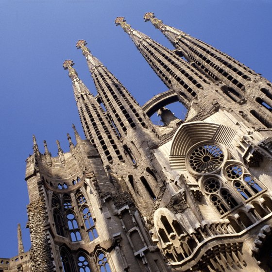 La Sagrada in Barcelona.