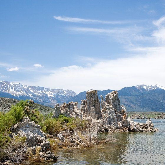 You can camp at a dispersed site at Mono Lake along Highway 395 east of Yosemite.