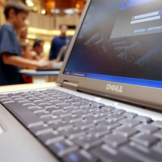 Dell laptops can integrate with the company's docking stations to expand functionality.