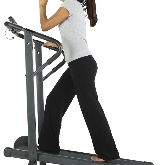 Use the treadmill to lose extra fat all over your body.