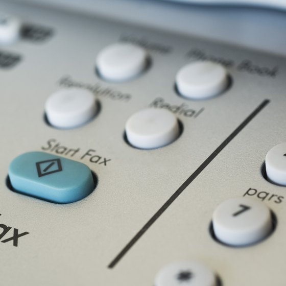 Printers with fax capabilities can share the phone line with other devices.