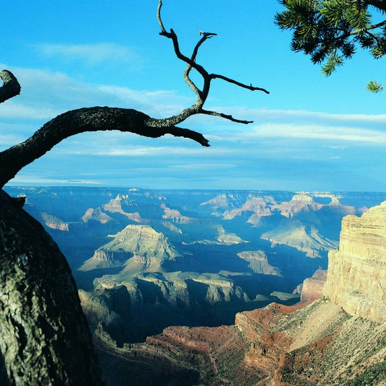 Mohave Point provides scenic views of the Grand Canyon from your car.