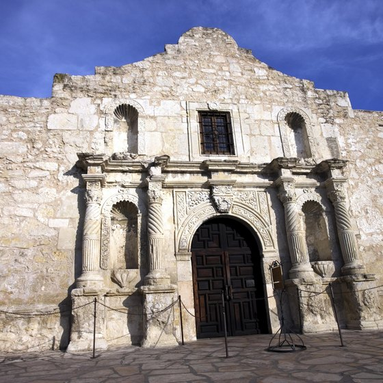 The Alamo is perhaps the most visited reminder of the West's violent history.