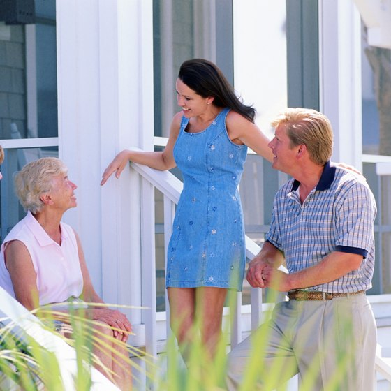 People share details about good service with friends, family members and neighbors.