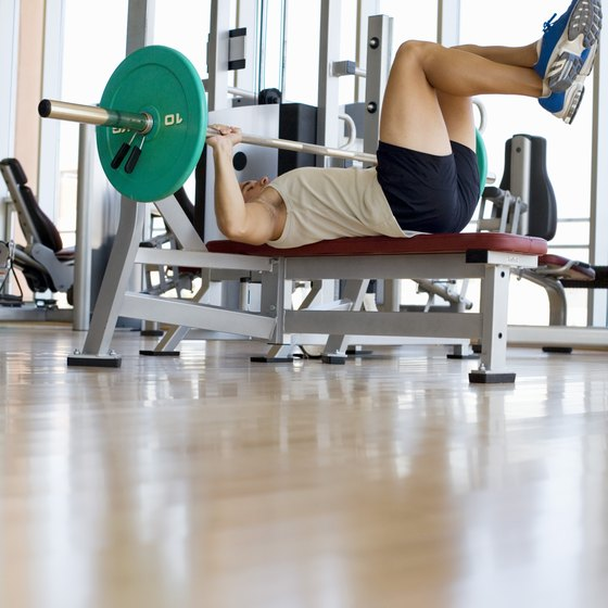 You are able to progress your bench press by performing exercises that contain no weights!