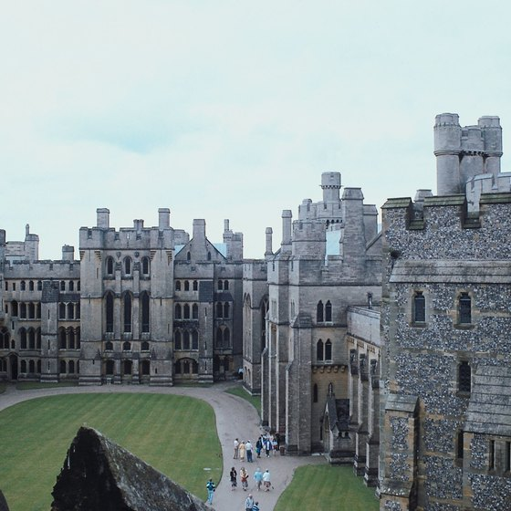 Queen Victoria and Prince Albert stayed at Arundel Castle in 1846.