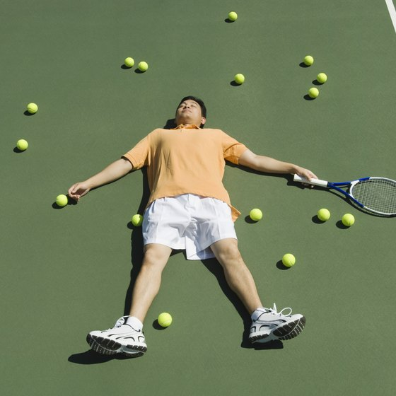 Make your tennis practices more match-like to prevent overuse injuries.