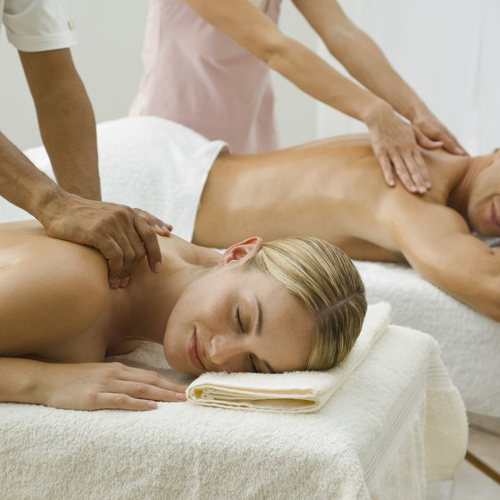 A deep tissue massage stimulates your circulatory system.