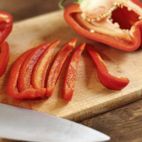 red bell peppers have probiotic properties