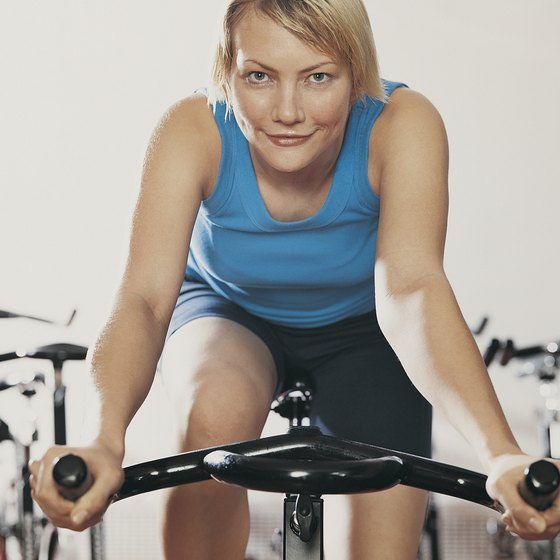 Exercise bikes can burn fat throughout your body, including back fat.