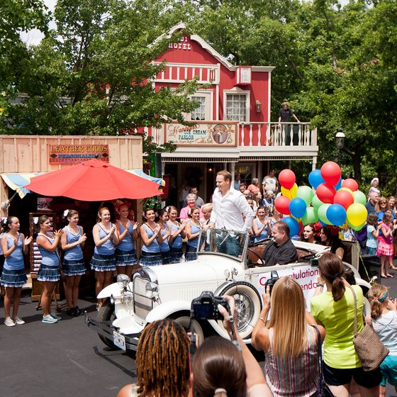In addition to rides, Silver Dollar City has stage shows and parades.