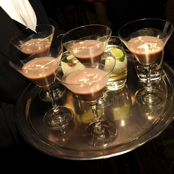 Chocolate milk was served at the annual Challenged Athletes Foundation's Heart & Hope Gala in New York City.