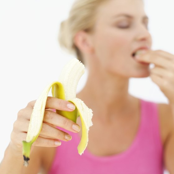 Bananas help boost your energy before workouts.