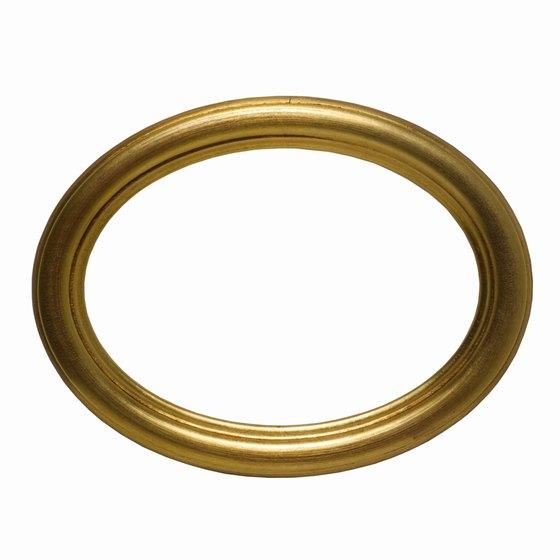 Ellipses define oval shapes.