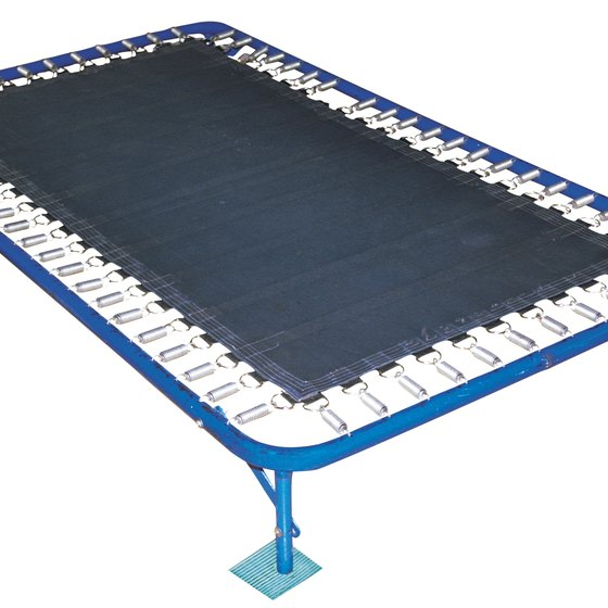 Reduce the length of your workouts with a large trampoline.