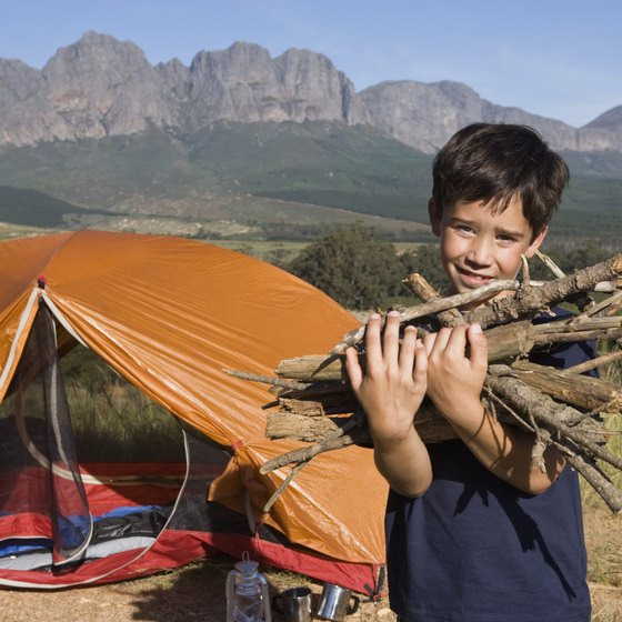 High-altitude campsites in Colorado can provide unparalleled views.