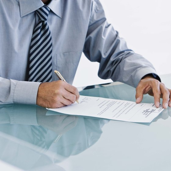 Have an attorney review any contracts before you sign them.