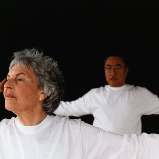 The CDC endorses tai chi as low-impact exercise for seniors.
