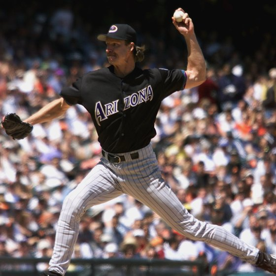 Do plenty of drills if you want to pitch like Randy Johnson.