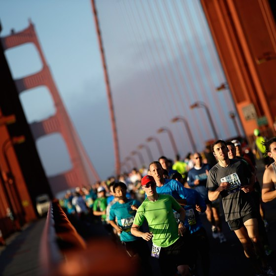 Expect to train rigorously to run a half-marathon.