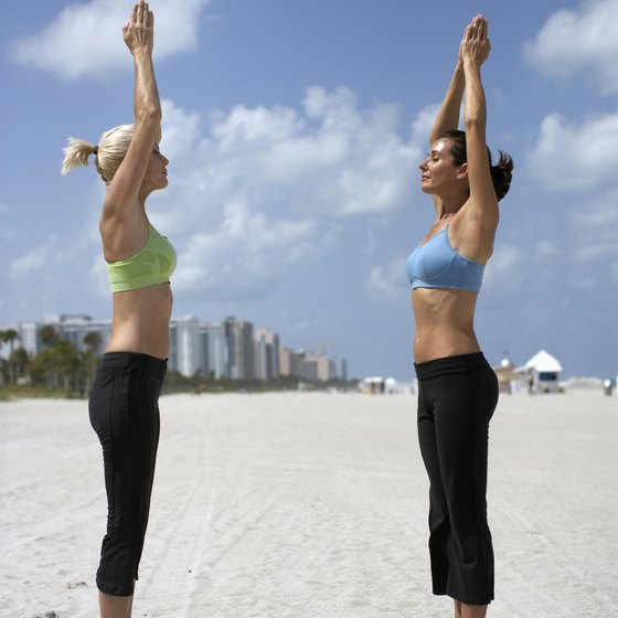Regular yoga practice retrains muscular imbalances to support better, more balanced posture.
