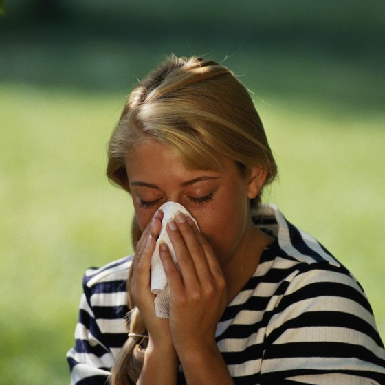Alternate Nostril Breathing might help to improve allergies.