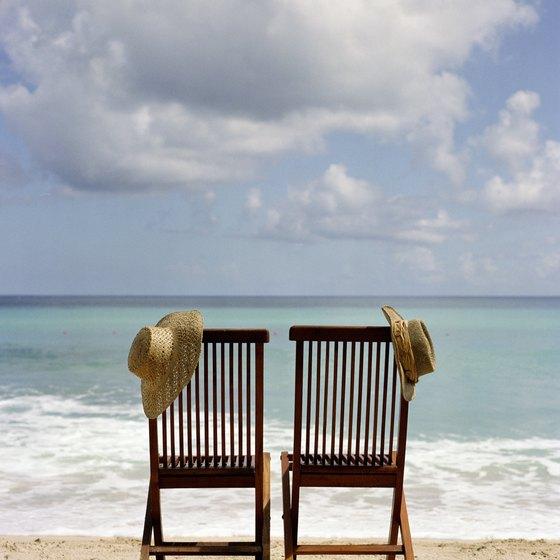 Barbados is a major beach destination.