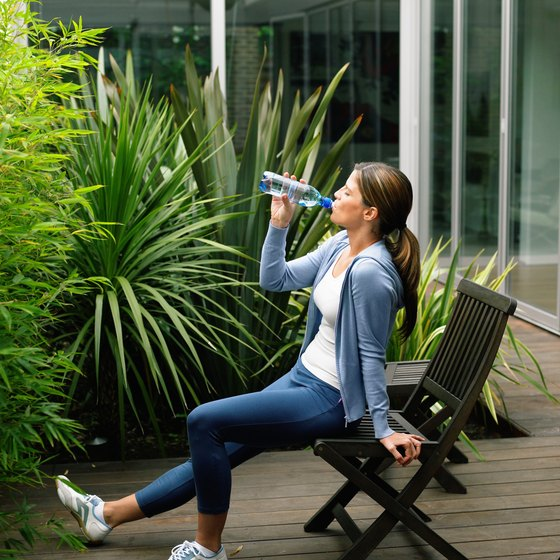 A chair can be fitness equipment for butt-strengthening workouts.
