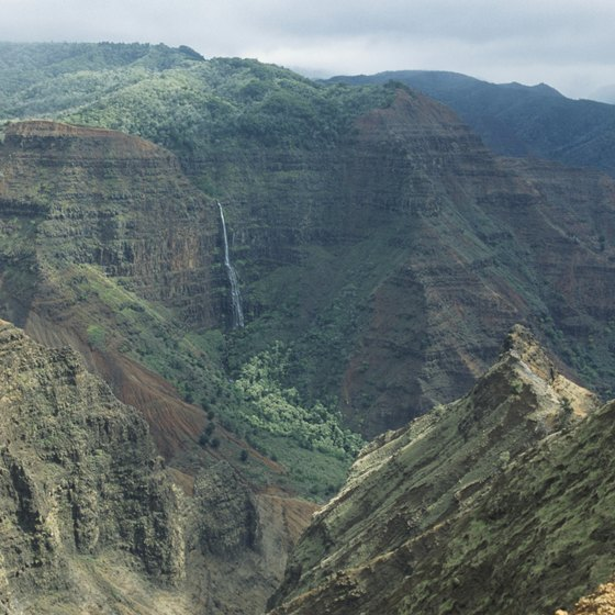 The Waimea Plantation Cottages are an easy drive from Waimea Canyon on Kauai.
