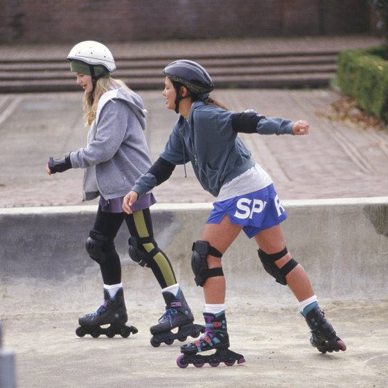 Rollerblading Vs Ice Skating Healthy Living