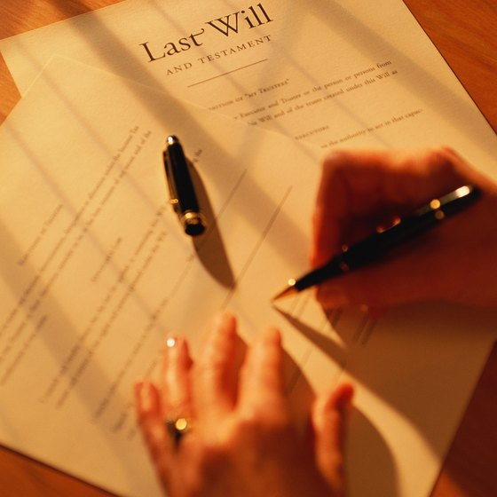 Wills help owners of corporations keep their business alive by directing who gets control of the company.
