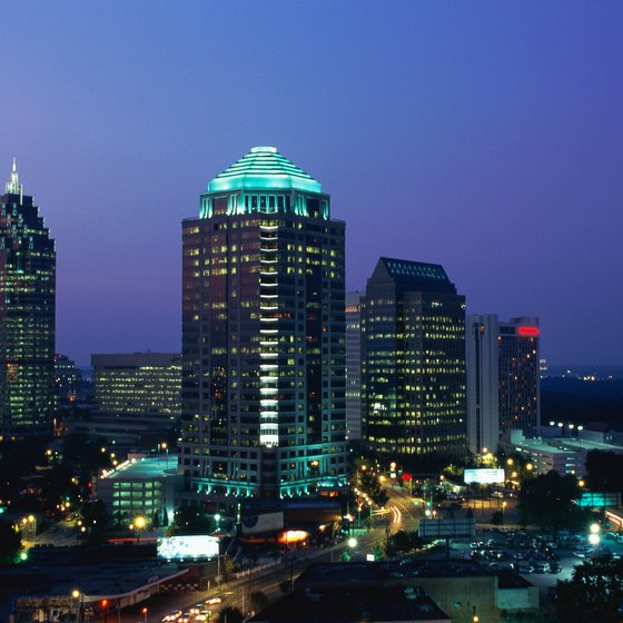 "Atlanta has been called the ""capital of the new South."""