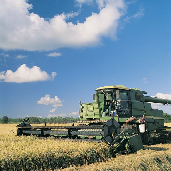 The high cost of farming equipment makes figuring out how you'll pay for it an important part of a business plan.