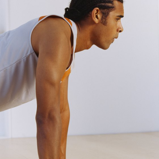 Make pushups one of your main exercises.