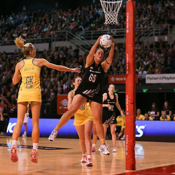 Plyometric exercises help netball players with jumping and rebounding.