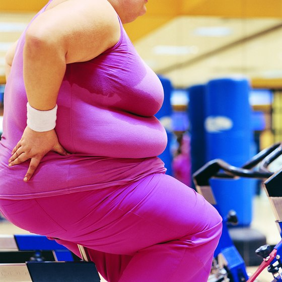 Exercise is a good way to drop excess weight.