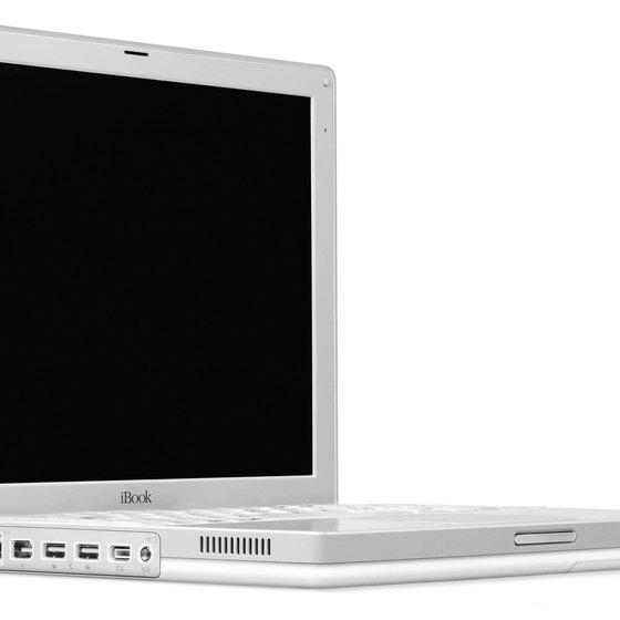You can add wireless printers to an iBook computer.