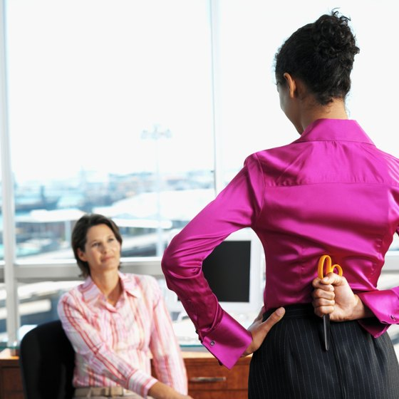 Employees dealing with bad managers often hide their resentment out of fear.