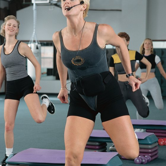 A typical workout DVD is like a fitness class at home.