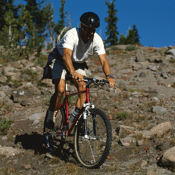 Mountain bikes are the most capable off-road bike.