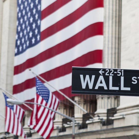 "Standing on Wall Street during the morning rush is similar to the NYSE floor, says ""New York Magazine."""