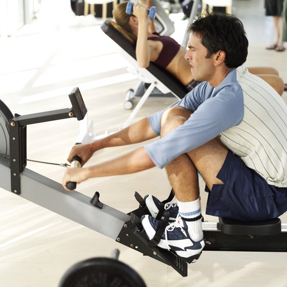 Intervals can provide an effective rowing workout.