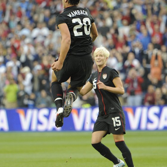 Rigorous workouts make Abby Wambach a lethal offensive threat.