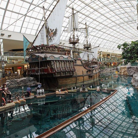 West Edmonton Mall attractions will entertain your preschooler.
