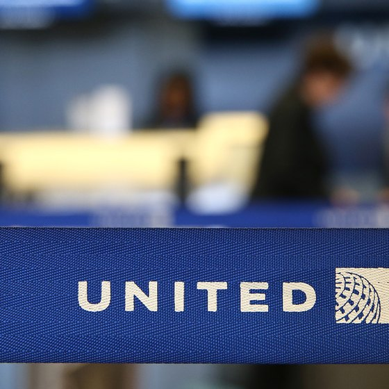 United Arilines teminal detail
