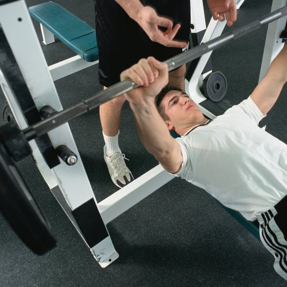 Losing weight won't affect your bench press if you keep t it.
