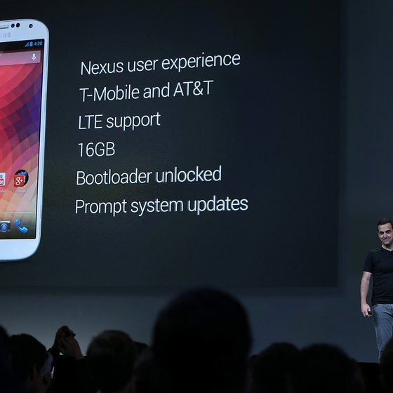 Android devices like the Samsung Galaxy S4 phones have native support for Exchange.